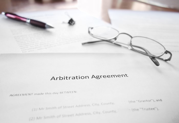 Commercial Arbitration & ADR inc Adjudication